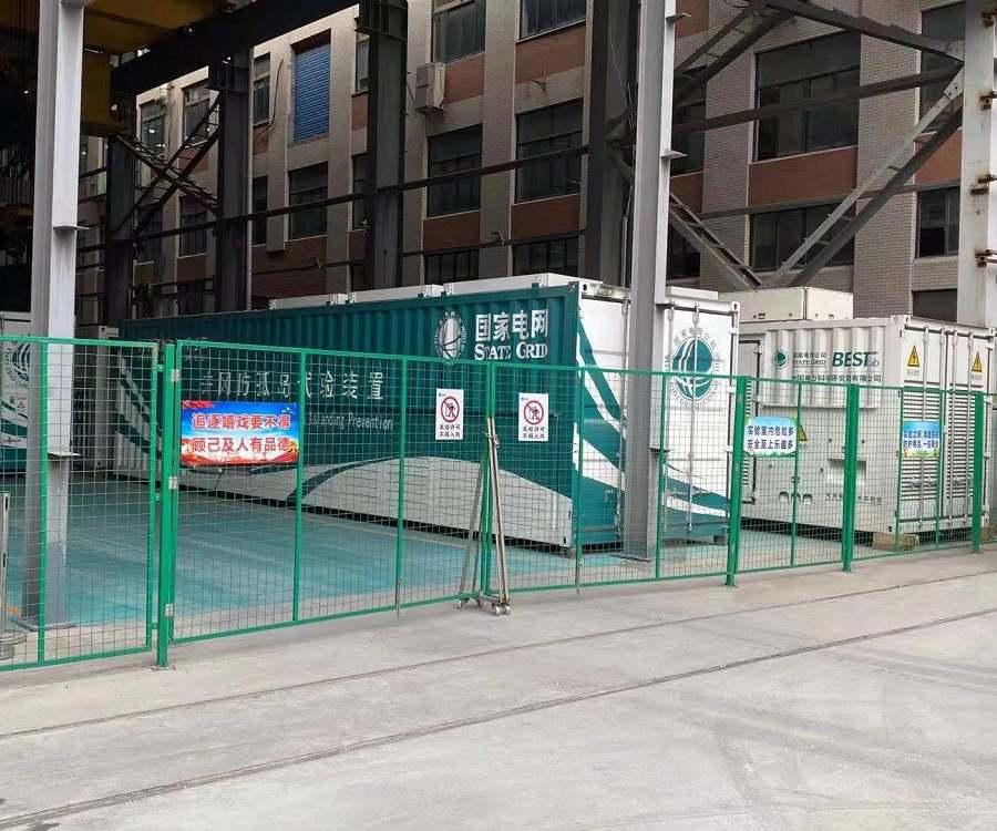 移动储能柜自动灭火装置